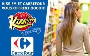 Kiss FM : un partenariat avec Carrefour