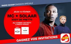 Radio Scoop : une émission spéciale avec MC Solaar et Eddy de Pretto