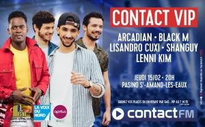 "Contact FM organise un concert ""ultra privé"""