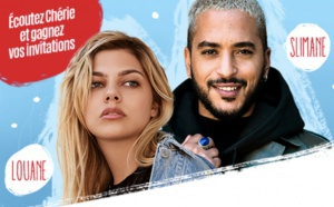 Louane et Slimane en concert avec Chérie à Bordeaux