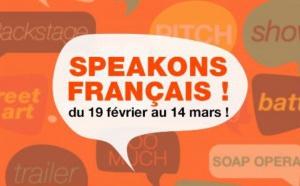 "RFI lance son opération ""Speakons français"""