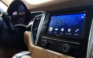 Sony commercialise un nouvel autoradio multimédia