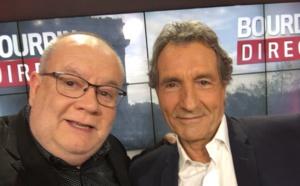 Jean-Jacques Bourdin commente un match sur RMC