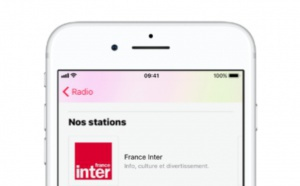 France Inter, franceinfo et France Culture disponibles sur Apple Music