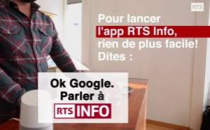 RTS Info lance la première application média pour assistant vocal