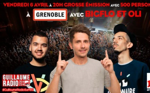 "NRJ : l'émission ""Guillaume Radio"" en direct de Grenoble"