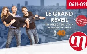 La matinale de M Radio en direct de Lyon