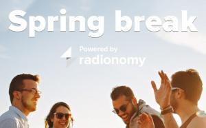 Radionomy lance Radio Spring break !