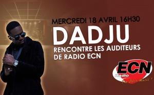 Les auditeurs de Radio ECN rencontrent Dadju