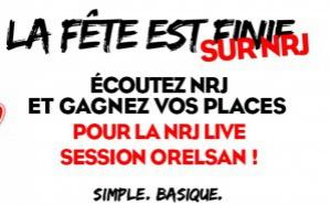 Orelsan pour une NRJ Live Session à Paris