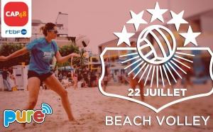 """La radio Pure (RTBF) organise le """"Pure Beach Volley"""""""