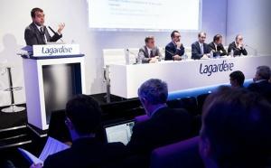 Arnaud Lagardère officialise l'arrivée de Laurent Guimier