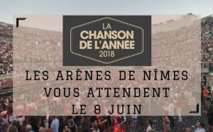 """France Bleu Gard Lozère partenaire de """"La Chanson de l'Année 2018"""""""