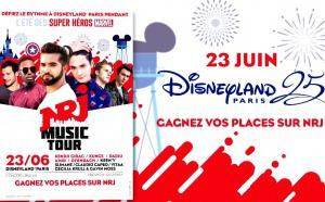 Le NRJ Music Tour à Disneyland Paris