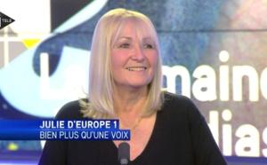 Julie d'Europe 1 sur le départ