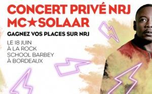 NRJ : un concert privé avec MC Solaar