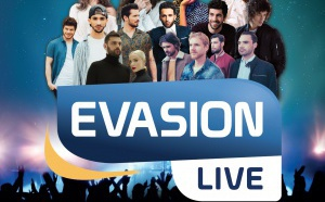 """Évasion organise son """"Évasion Live"""", le 27 juin"""