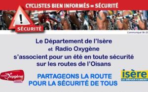 Le département de l'Isère et Radio Oxygène s'associent pour la bonne cause