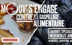 Mouv' s'engage contre le gaspillage alimentaire