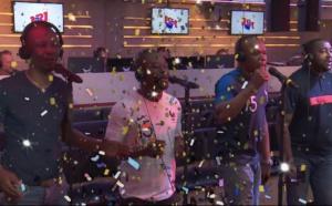 NRJ fête la victoire des Bleus avec les Magic System