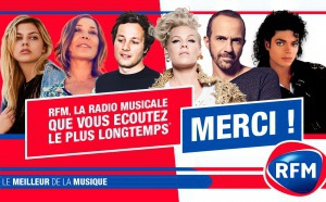 RFM : la radio musicale écoutée le plus longtemps