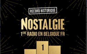 Nostalgie devient la radio la plus écoutée en Belgique francophone