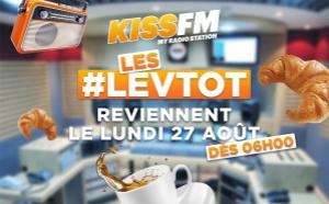 La matinale de Kiss FM a fait sa rentrée