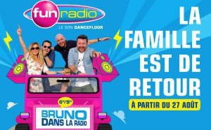 Une campagne pour la matinale de Fun Radio