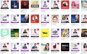 Les podcasts téléchargés sur Apple Podcast