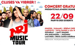 Cluses (Haute-Savoie) accueille une étape du NRJ Music Tour