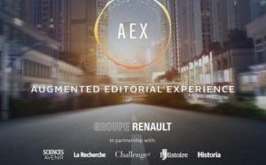Avec AEX, Renault va produire des contenus pour la voiture