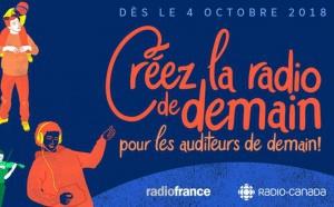 Radio France et Radio Canada lancent l'accélérateur d'idées