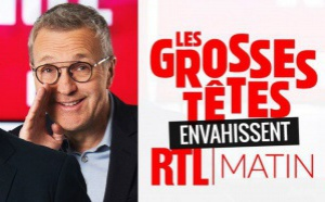 """Les Grosses Têtes"" envahissent ""RTL Matin"""