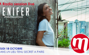 Jenifer dans un concert M Radio Session Live exceptionnel