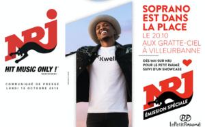 Soprano en concert gratuit NRJ à Villeurbanne