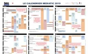 Le Calendrier Mediatic 2019 est déjà disponible