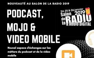 Podcast, MoJo et Vidéo Mobile au Salon de la Radio et de l'Audio Digital 2019