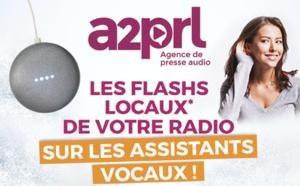 Les flashs de l'A2PRL sur les assistants vocaux
