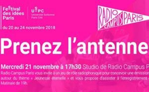 """""""Prenez l'antenne"""" sur Radio Campus Paris"""