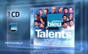"Parution de la compilation ""Talents France Bleu 2018"""
