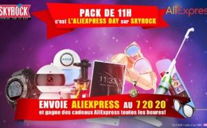 AliExpress mise sur Skyrock