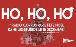 Radio Campus Paris fête Noël