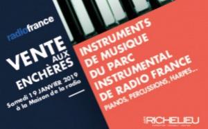 Radio France : vente aux enchères d'instruments de musique