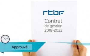 Le projet de contrat de gestion de la RTBF est approuvé