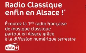DAB+ : Radio Classique est arrivée en Alsace