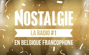 En Belgique, Nostalgie est la radio la plus écoutée