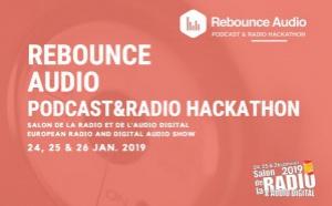 """""""Rebounce Audio"""" : le hackathon du podcast et de la radio"""