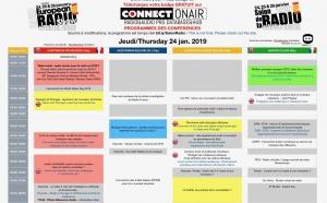 Salon de la Radio : Jour 1 : le programme