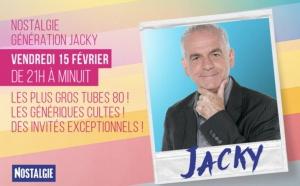 """Nostalgie programme """"Génération Jacky"""""""