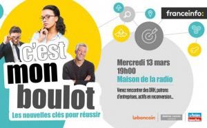 """franceinfo : l'opération """"C'est mon boulot"""" à Paris, le 13 mars"""